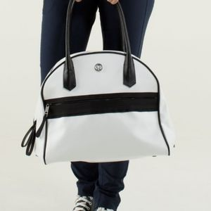 NWOT! Lululemon Sweat Once A Day Bag White